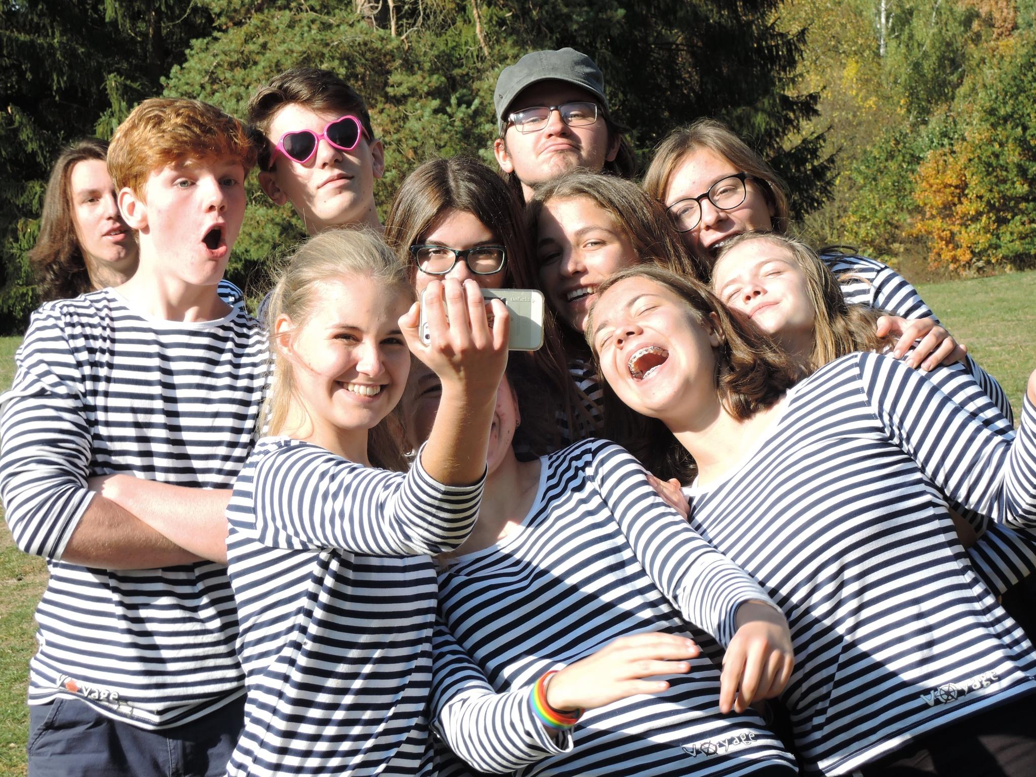 Společné selfie na kurzu Voyage