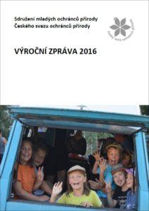 Výroční zpráva SMOP ČSOP 2016